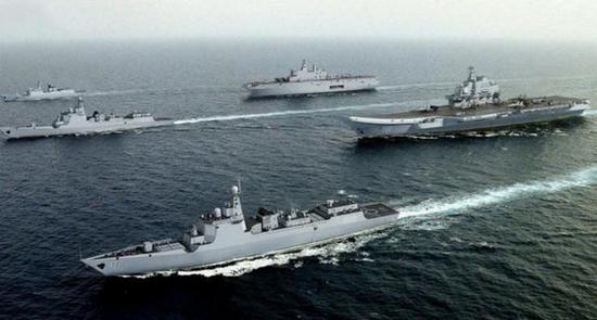 美媒预计12年内中国将拥4艘航母 美海军难立足太平洋