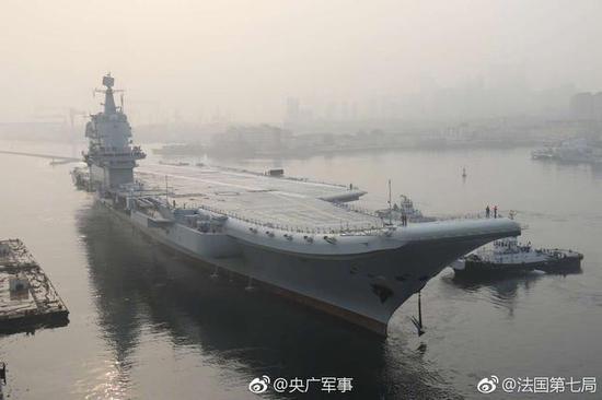 """中国""""双航母时代""""即将来临:这一刻我们只等了7年"""