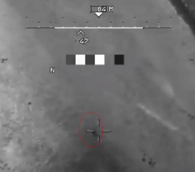 美军公布轰炸塔利班的血腥视频 对武装分子发射导弹