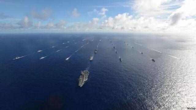 美国想用环太军演门票换中国南海岛礁?王毅:太轻率