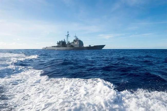 美国防部回应2艘军舰闯中国西沙岛礁:符合国际法