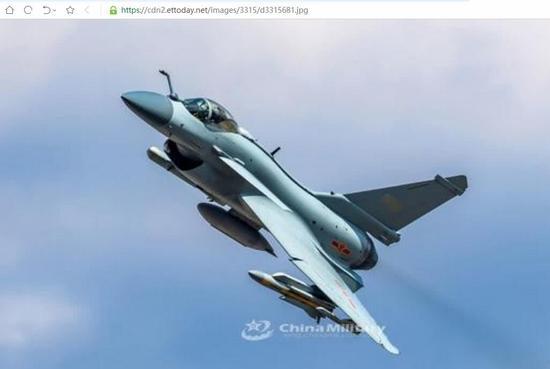 台媒:歼10B变雷达杀手 2分钟可灭台爱国者导弹阵地