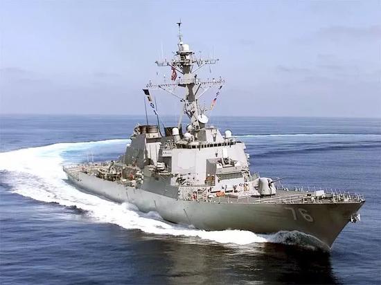 """美媒:中国军舰采取""""不专业""""方式驱逐闯西沙美舰"""