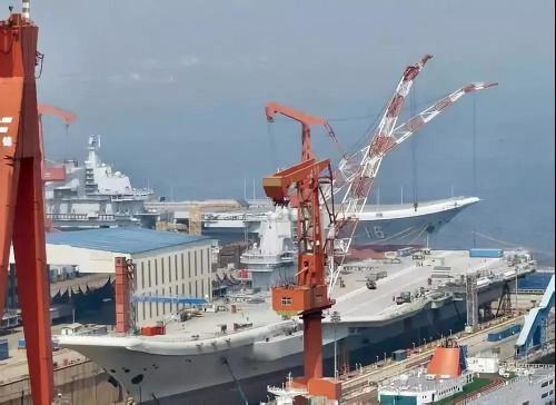 中国成第2航母大国和第一差在哪:功率比吨位更重要