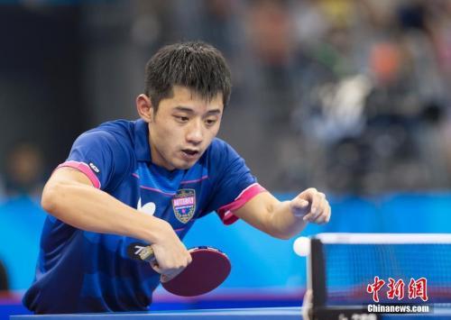 日本公开赛,国乒仅剩张继科还未被淘汰。