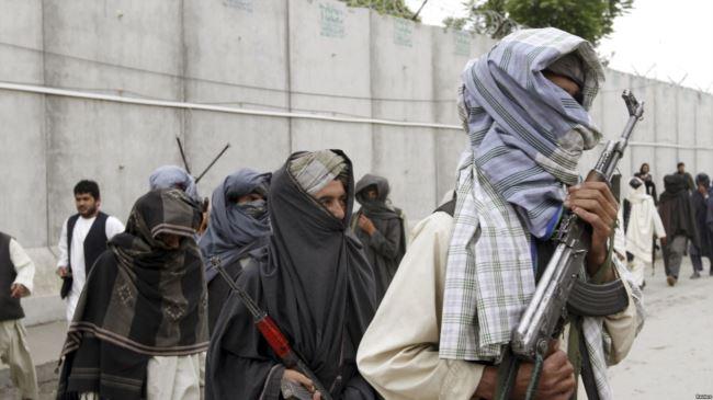 阿富汗塔利班武装(资料照片)