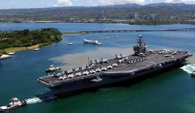 火山地震频发 美军24艘核潜艇紧急逃离