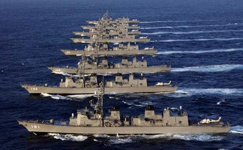 日本海上自卫队实力还有多强?