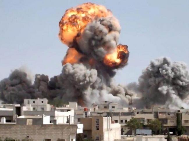 谈判破裂!俄空军投下数百枚巨型炸弹