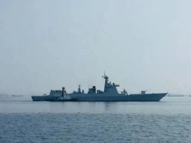 被拒环太军演 美媒:中国派军舰刺探演习