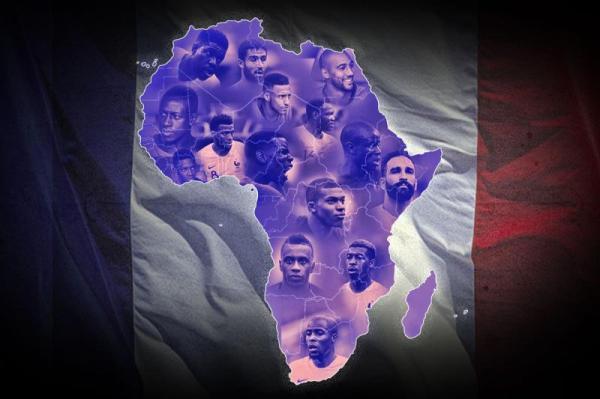15名球员有非洲血统,法国夺冠整个非洲都嗨了