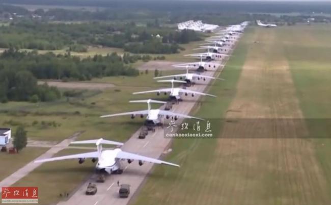鐵鷹列陣!俄50架伊爾76空投戰車抗北約