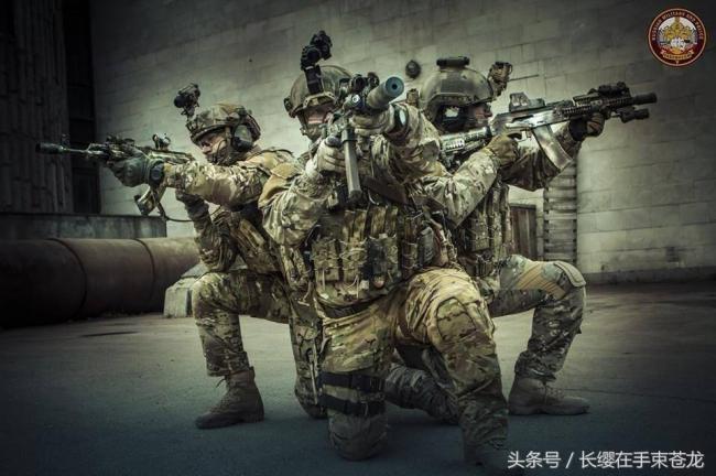 """俄罗斯神秘的""""阿尔法""""反恐部队一组美图"""