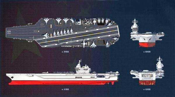 中国核航母配置豪华:10万吨 电磁弹射 隐形舰载机