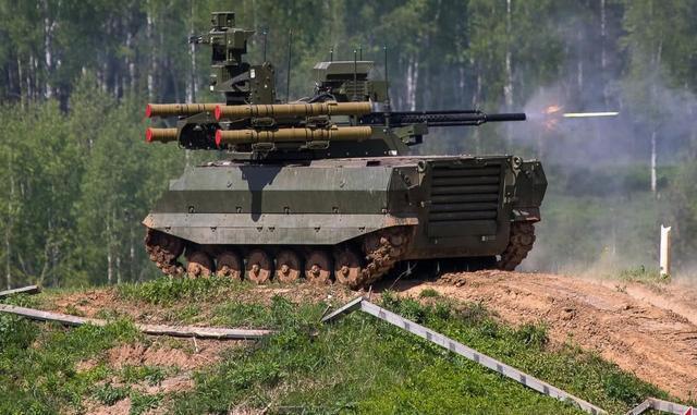 电影变成现实:俄在叙利亚战场投入机器人参战
