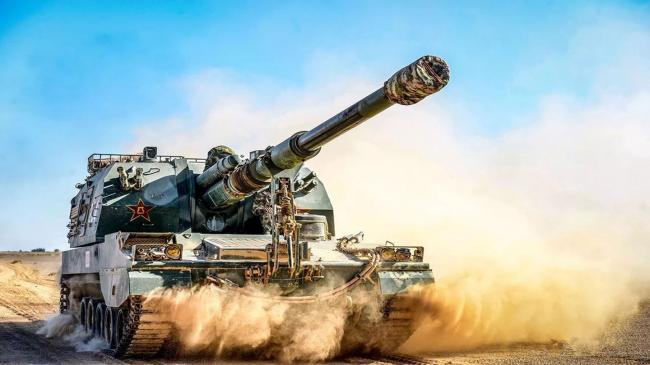 坦克两项刚结束 中俄就突然集结10万大军