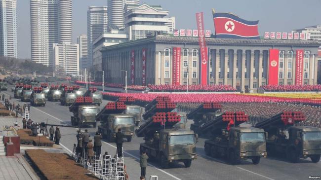 朝鲜正准备举行规模罕见的大阅兵