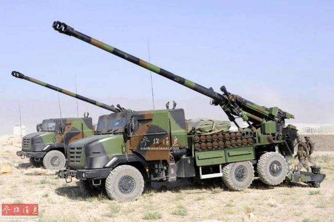 """每15秒3發!""""凱撒""""卡車炮轟擊IS據點"""