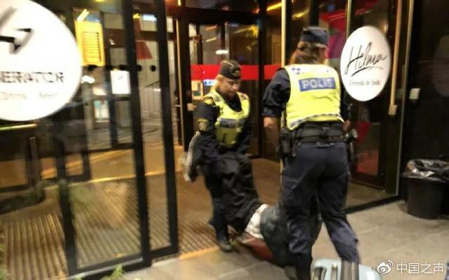 瑞典酒店 大廳無監控 無法回看警察執法
