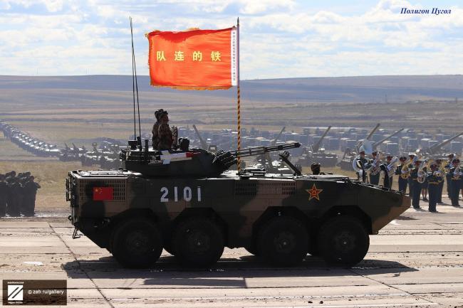 俄記者鏡頭下的東方軍演 中俄裝備對比明顯