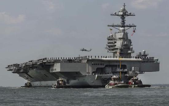美最强航母首次实战部署 能抗2枚东风