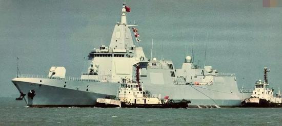 055大驱总数或达60余艘 052E强化反潜为航母护航