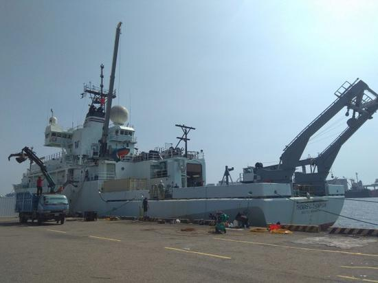 """美海军回应科研船停靠台湾高雄港:原因""""很单纯"""""""