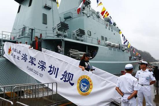 深圳舰升级为何不换装YJ18导弹:没有足够空间