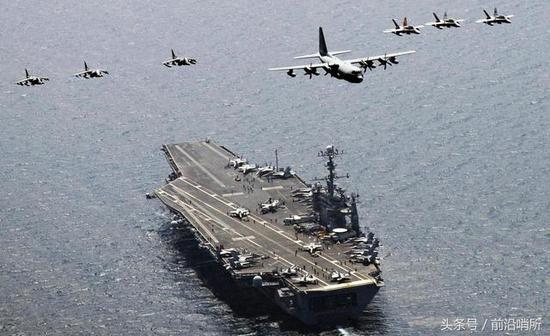中国航母力量增强直追美国 美军曾用7小时击沉日航母