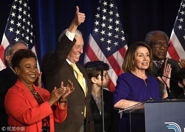 民主党刚赢回众议院 就暴露了最大问题