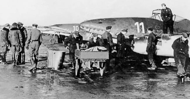 噴氣機鼻祖︰二戰德軍262噴氣式戰斗機