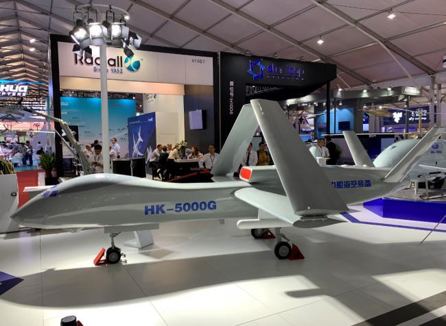 國產艦載噴氣無人機HK5000G