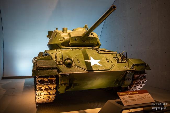 军博珍藏的世界各国坦克和装甲车 难得一见