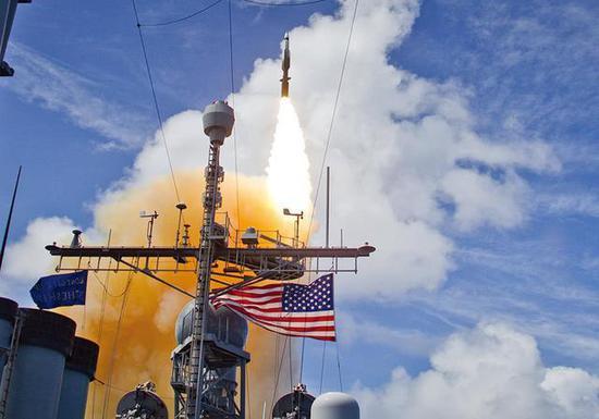 美日反导系统再次成功试射 对东风导弹构不成威胁