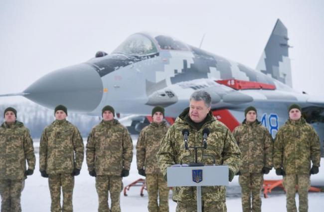 烏克蘭軍隊俄烏邊境搞軍演 烏總統現場觀摩