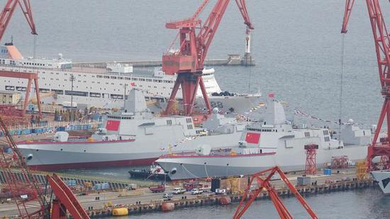 055大驱建造速度加快 三号舰名或已命名拉萨号