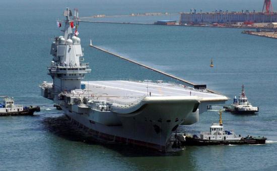 外媒妄称中美摩擦致中国电磁弹射型航母进度受阻