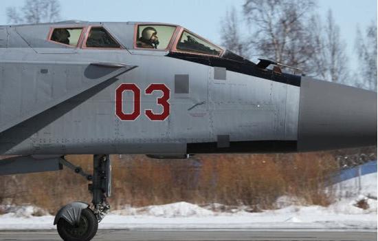 俄军米格31体型比歼10大一半 为何已不适应现代战争