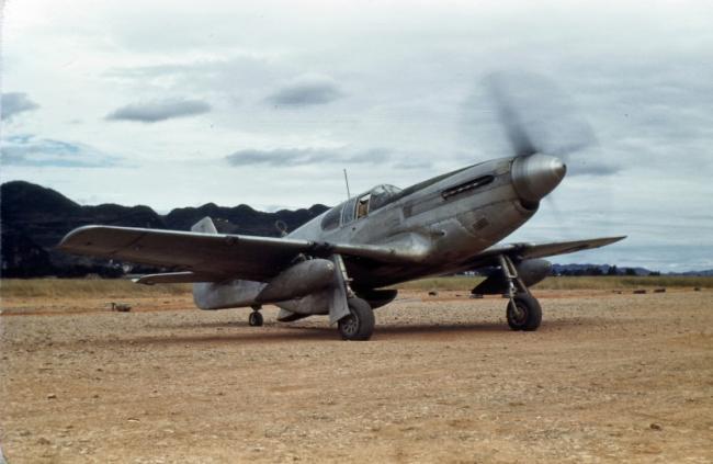 抗战时在中国作战的美军野马战斗机