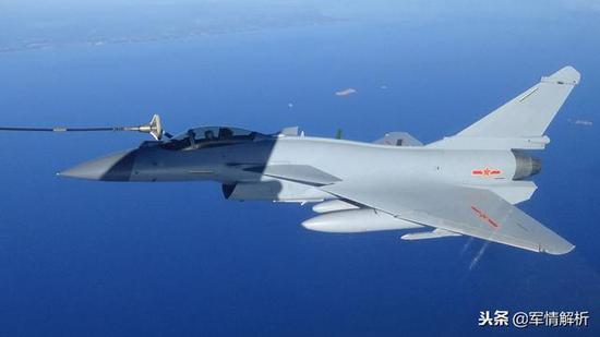 中國殲10C戰斗力達到準五代機水準 但一性能不如F16