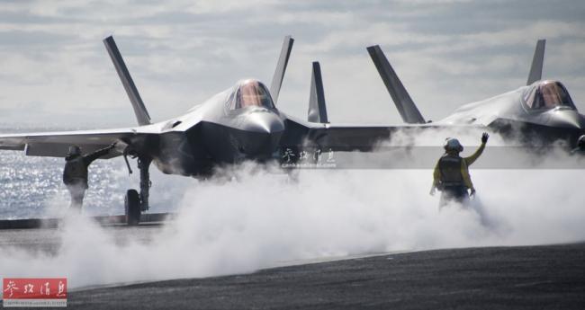 即将部署!美首支F35C作战中队上舰
