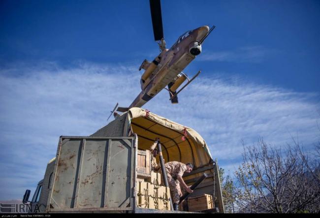 伊朗的AH-1機體雖老舊,但火力還是杠杠的