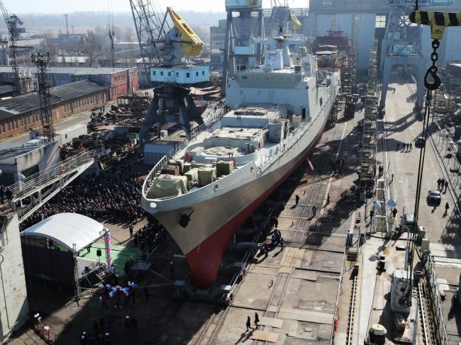 俄海軍忍痛出售兩艘半成品軍艦印度高價接盤