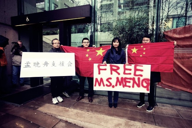 遭中国报复美国沉默 加拿大孤立无援