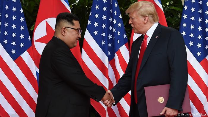 """朝鲜批评美国以制裁相逼是""""最大失算"""""""