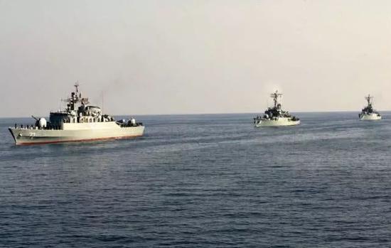伊朗海军或将活动范围扩大到美国后院 中俄还没做到
