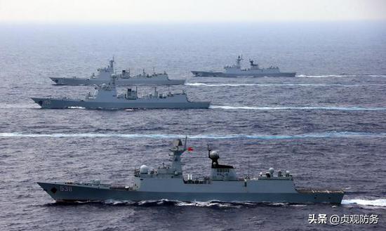 中国海军今年或服役5艘驱逐舰 数量有望成全球第一