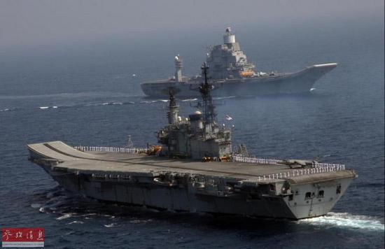 印度海军参谋长披露造舰计划 称其航母比中国先进