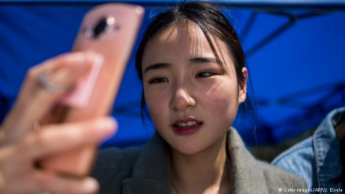 China Handy Internet (Getty Images/AFP/J. Eisele)