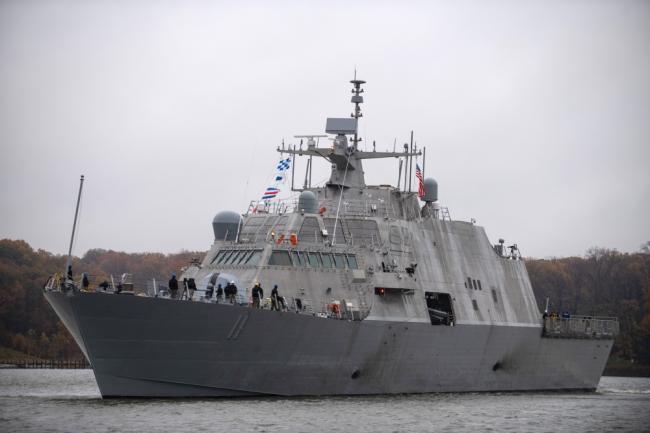 美國海軍最新一艘瀕海戰斗艦服役